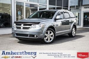 2010 Dodge Journey AWD - LEATHER, DVD PLAYER, NAVIGATION & MORE!