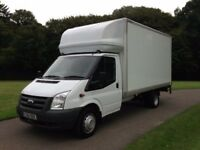 24/7 SHORT NOTICE MAN & LUTON VAN WITH TAIL LIFT. House/Office Removal & Delivery Services.
