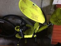 Green trike vg condition