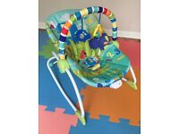 Bright Starts baby to toddler rocking chair
