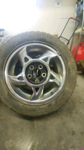 Winter tires for sale! On rims