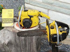 2 McCulloch chain saws