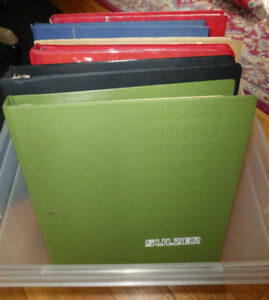 7  Stock Books Mint File Sheets GB Stamp Album for Stamps