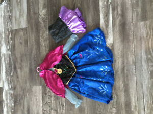Anna from Frozen movie costume size 4