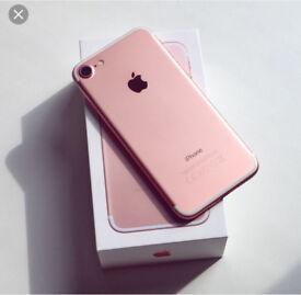 I phone 7 Rose Gold 32 GB Still Under Warranty