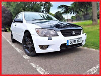 (Fast & Furious)-- Lexus IS 300 -- 3.0 Auto -- Navigation -- half Leather Seats -- Many upgrades -PX