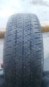 4, 195/65/R15 5 bolt firestone tires and steelies