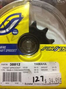 12 tooth Yamaha front sprocket