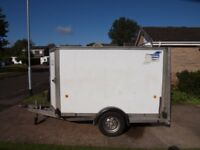 IFOR WILLIAMS BOX TRAILER IN GOOD CONDITION