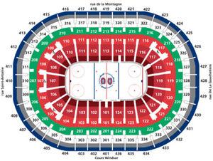 Canadiens de Montréal HABS Zone DESJARDINS - Bouffe inclus