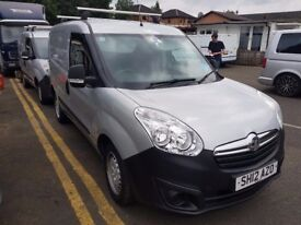 vauxhall combo 1.3cdti x2 96k and 108k well maintained cheap bargain vans crewcabs new shape no vat