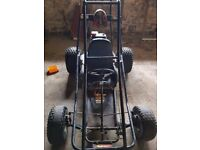 Selling manco dingo buggy/go kart. Great price. 6HP 195cc