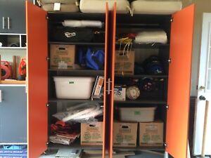Garage Storage and Work Bench