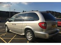 CHRYSLER GRAND VOYAGER 2.8 CRD AUTO LIMITED XS - 7 SEAT, REAR DVD, SAT NAV, ELECTRIC DOORS, LEATHER