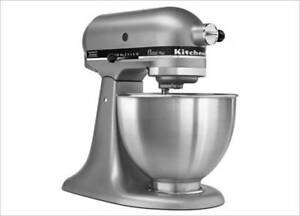 NEW Kitchenaid Mixer Classic Plus STAINLESS STEEL