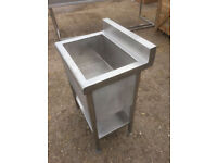 STAINLESS STEEL SINK 60x50x85 for ice
