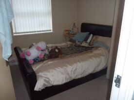 DOUBLE ROOM TO RENT NOW IN MODERN GROUND FLOOR FLAT CLOSE TO THE CITY