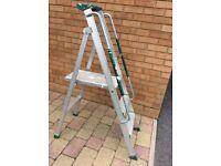 3 step folding ladders