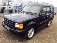 2001 Land Rover DISCOVERY**SERVICE HISTORY*LONG MOT**7 SEATER**AUTOMATIC**LEATHER TRIM**ALLOY WHEELS