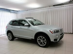 2017 BMW X3 EXPERIENCE IT FOR YOURSELF!! 28i XDRIVE AWD SUV w/