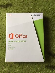 Authentic Microsoft Office Home & Student 2013