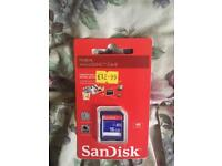16gb Sandisk micro sd card and adapter £10