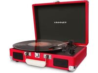 Brand New Crosley red record player