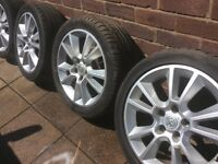 "17"" Vauxhall zafira alloys"