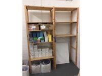 Ikea Wooden Adjustable Shelves
