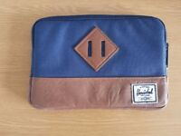 "Herschel Blue and Brown 7"" Tablet Case iPad Mini"