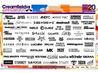 2 x 4 Day Silver Camping Creamfields Tickets