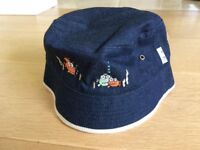 Kids Denim Sunhat 1, for toddlers