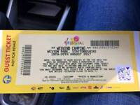 2 V Fest Tickets