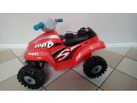 Toddler quad bike