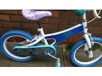 "Disney frozen sisters forever 16"" kids bike"
