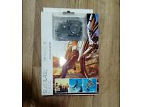 BRAND NEW Silver label (like go pro) 720P HD action camera