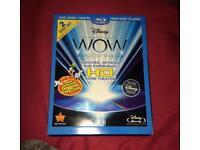 WOW Disney 2 disc calibration bluray