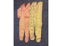 (Brand new) Sleep suits 2-3years (x4)