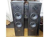 Acoustic Solutions AV-120 Stereo loudspeakers FLOOR SPEAKERS, 190W , 4-8 ohms
