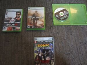 X box 360 Games and headset.