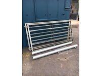 7 bar galvanised gates