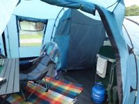 Khyam Ontario 8 tent / Sun porch