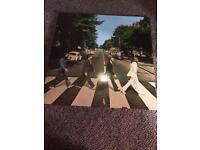 THE BEATLES LP VINYL RECORD ABBEY ROAD REISSUE MINT CONDITION