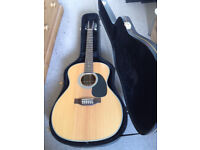 Sigma JR12-1STE 12 string electro-acoustic guitar with hard case
