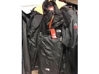 Waterproof pants and coats