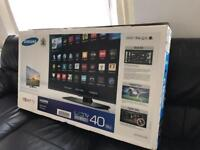 """Samsung 40"""" Smart LED FullHD 1080p USB Immaculate condition"""