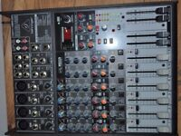 BEHRINGER XENYX X1204USB Premium 12-Input 2/2 Bus Mixer with USB/Audio Interface