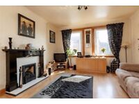 Modern bright comfortable flat with on street, easy access to centre, garden and band A council tax