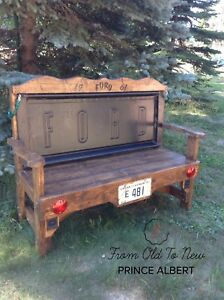 1961 Ford Tailgate Bench