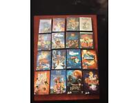 16 Disney dvds brave inside out frozen up Nemo more